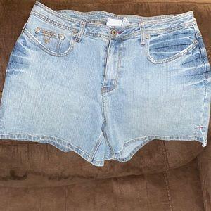 Woman's size 16 denim shorts